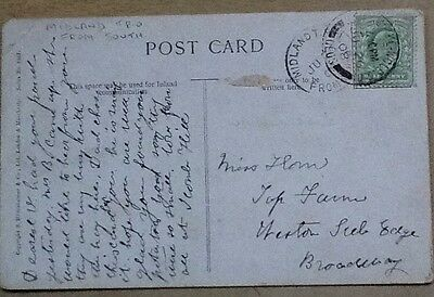 gb postal midland tpo from south 1908