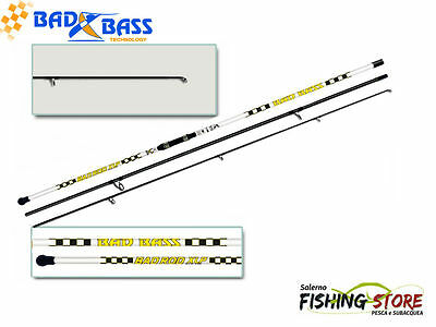 CANNA SURFCASTING BAD BASS BADROD XML150- 4.30 mt-azione 150 gr 3 PEZZI PACBAY