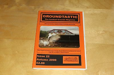 Groundtastic - The Football Grounds Magazine - Autumn 2000 No 22