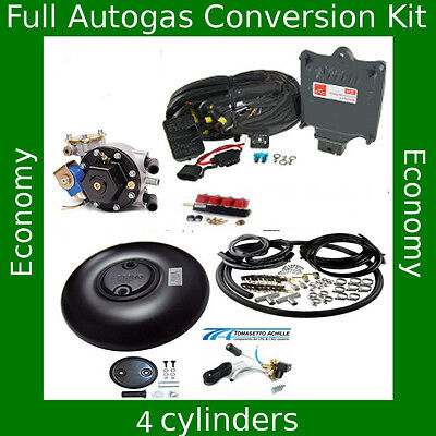 Total Autogas Conversion kit for 4 cylinders AEB King 110 kW / 150 HP LPG