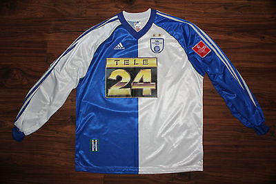 Grasshoppers Zurich Adidas Ls Home Shirt 99/00 Size Xl #15 Cabanas Player Issue