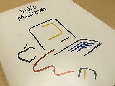 Inside Macintosh 'phone book' edition - March 1985 - by Apple Computer / Vintage