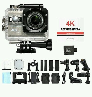 ICONNTECHS IT Sport Action Camera 4K Ultra HD Impermeabile