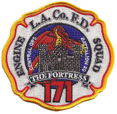 La County Fire Dept. 171 The Fortress (Cali Fornia) Fire Patch