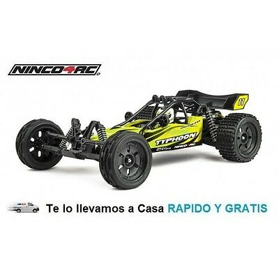Coche Rc Typhoon Brushless 2,4Ghz 1/12 RTR Juguete Radiocontrol Ninco NH93101