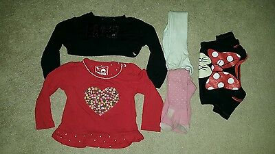 bundle of baby girls items 12/18 months