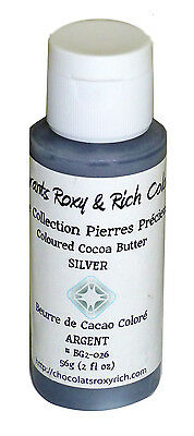Chocolats Roxy & Rich Cocoa Butter - Silver Shimmer - 2 oz