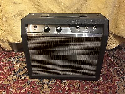 Crestone guitar amplifier.   LIKE THEY SOLD IN WOOLWORTHS