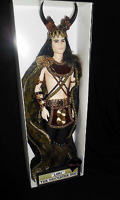LOKI ~ Norse mythology trickster God barbie ken doll ooak Celtic DAKOTAS.SONG