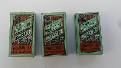 R148---Empty Woodbine 10s Cigarette Packets with slides.---UK ONLY