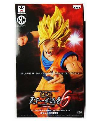 Dragon Ball Z Goku Gokou Ss2 Scultures 6 Figure Figura Nueva New