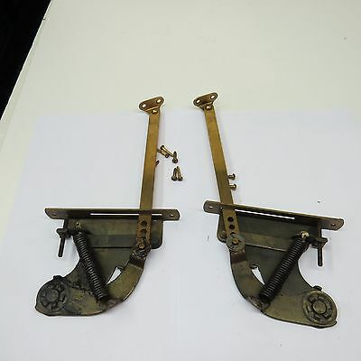 Brunswick Phonograph / Radio Lid Support Arms For Restoration Or Parts
