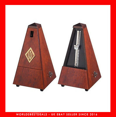 Wittner Maelzel  Designer Pyramid Metronome With Bell - Limited edition.