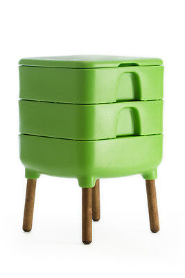 HOT FROG Living Composter - Color Green (Direct From Manufacturer)