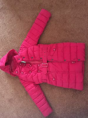 Gorgeous Red Padded Winter Coat Age 5-6