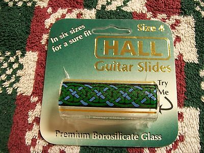 Hall Guitar Slide 8491 - Bristol Celtic Slide Size 4 Regular -