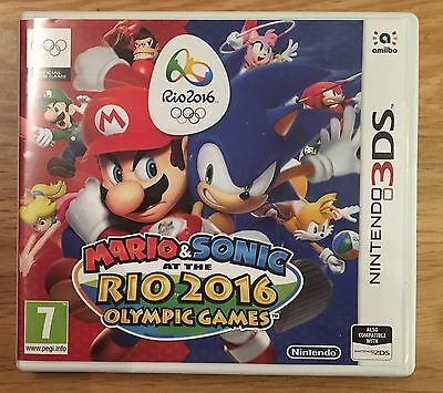 Mario and Sonic at the Rio 2016 Olympic Games For Nintendo 3DS
