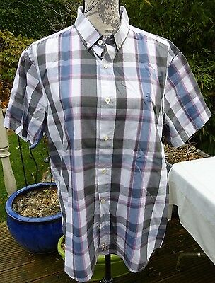 Mens Penguin Heritage Slim Fit Short Sleeve Shirt. Size Large. Immaculate.