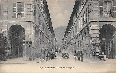 Cpa 73 Chambery Rue Des Portiques