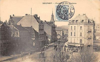 Cpa 90 Belfort Faubourg Des Ancetres