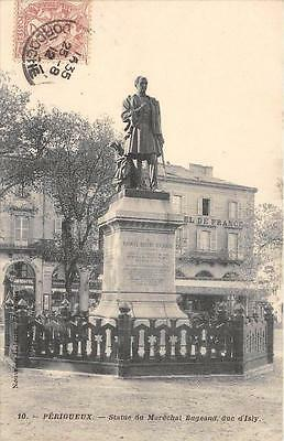 Cpa 24 Perigueux Statue Marechal Bugeaud Duc D'isly