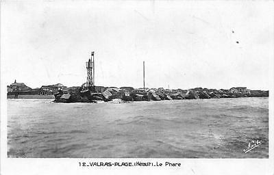 Cpa 34 Valras Plage Le Phare