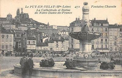 Cpa 43 Le Puy En Velay Fontaine Chassin