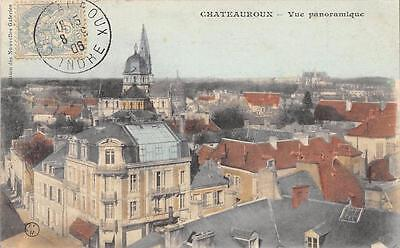 Cpa 36 Chateauroux Vue Panoramique