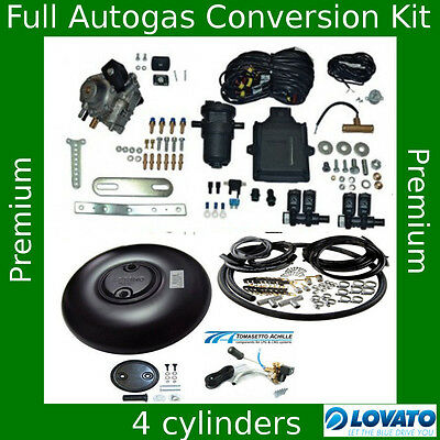 Complete Autogas Conversion kit for 4 cylinders Lovato Smart 120 kW / 165 HP LPG