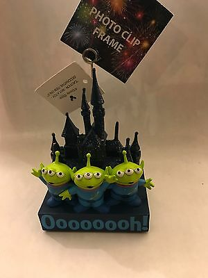 New Disneyland Toy Story Green Alien Little Men Photo Clip
