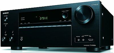 Onkyo 7.2 Channel Network A/V Home Audio Receiver Built-in Wi-Fi and Bluetooth