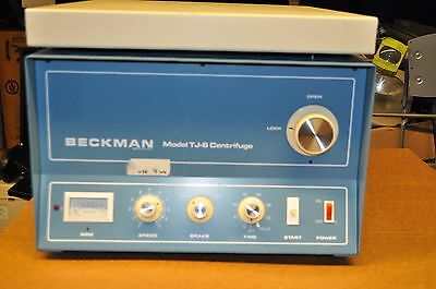 Beckman Model TJ-6 Centrifuge - Includes rotor and buckets USED