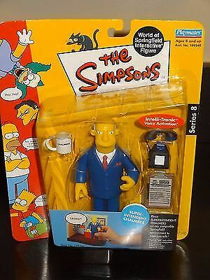 WOS Simpsons Interactive Figure - SUPER INTENDENT CHALMERS