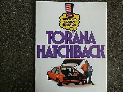 Holden 1976 Lx Torana  Hatchback Sales Brochure. 100% Guarantee