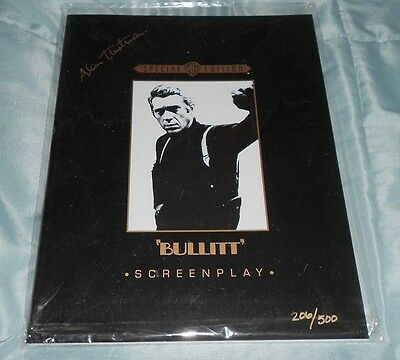 Bullitt- The ultimate Chase Screenplay Signed by Alan Trustman Limited /500