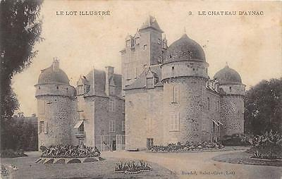 Cpa 46 Le  Chateau D'aynac