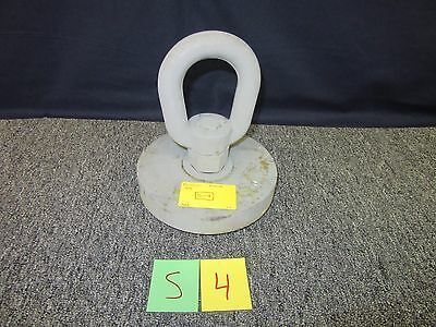 "Cc 10 Ton Swivel Eye Plate Gray Military Shipping Anchor 1-1/4"" 57416117 Used"