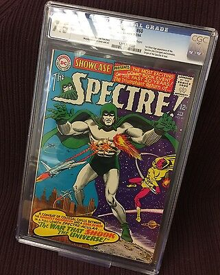 D.C. Silver Age Showcase #60 CGC 7.5 1st Silver Age Appearance of The Spectre