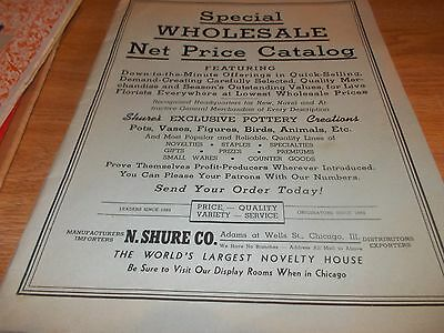Original 1940 N. Shure Co Special Wholesale Net Price Catalog