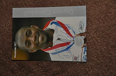 Darren Campbell - Sports/athletics - Signed Photo/picture