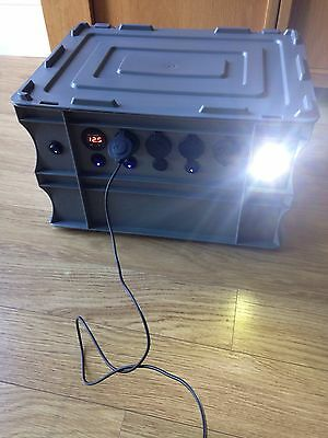 portable power pack Camping, 4x4 Touring, Landrover, Camper Vans, Fishing