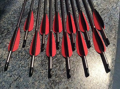 12 x Easton XX75 arrows - 1416 Spine - Used But Good Condition