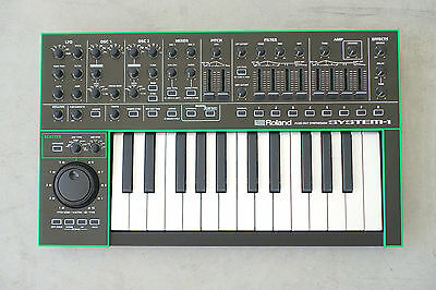 Roland System-1 Plug-Out Synthesizer MINT with Box Synth Keyboard Aira