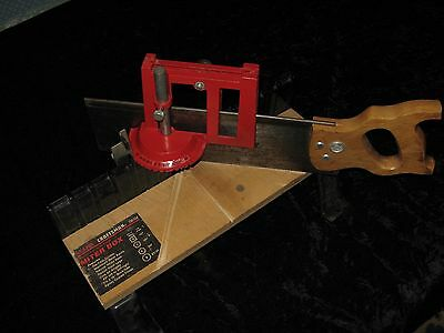 """Adjustable Miter Box With 14"""" Saw"""