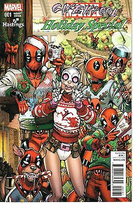 Deadpool: Holiday Special #1 Hastings Variant Cover