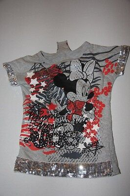 Matalan Disney Minnie Mouse glittery top - age 4 to 5 years