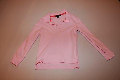 Gap kids pink long sleeve top - size age 4 to 5 years