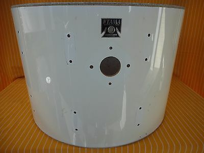 "1980s TAMA IMPERIALSTAR 24""x 16""deep POWER BASS DRUM SHELL+T BADGE MADE IN JAPAN"