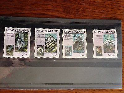 New Zealand Stamps - 1987 National Parks Used