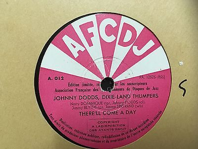 Johnny Dodds 'There'll Come A Day  / Weary Way Blues ' AFCDJ 78RPM